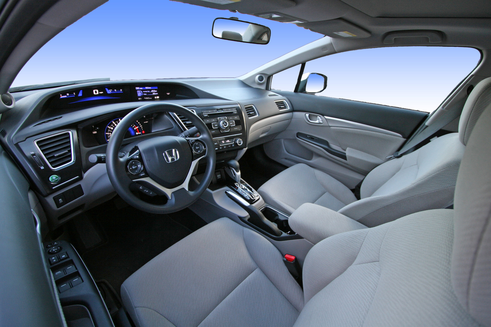2013 Honda Civic, Front seat, interior, interior, look_and_feel
