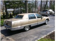 Picture of 1994 Cadillac Fleetwood Base Sedan, exterior