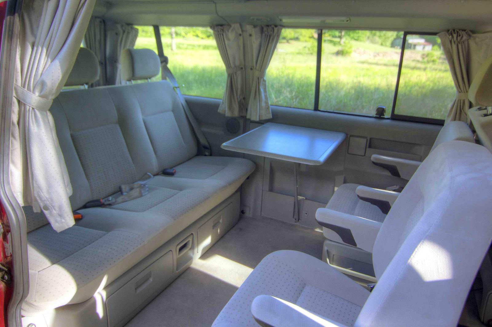 2000 Volkswagen Eurovan Interior Pictures Cargurus