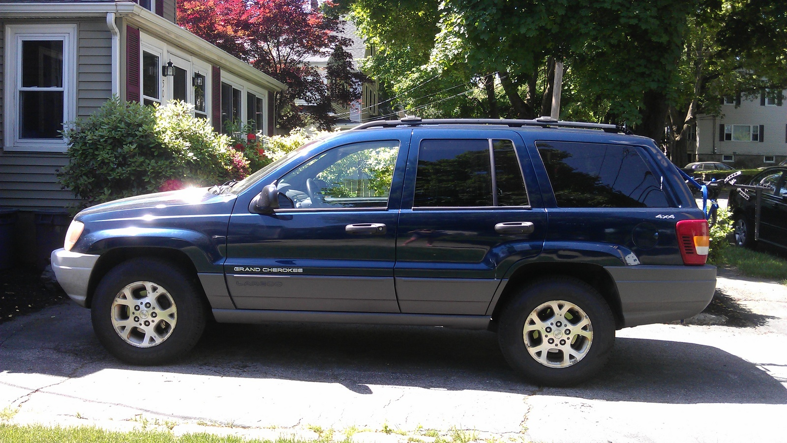 picture of 2001 jeep grand cherokee laredo 4wd exterior. Cars Review. Best American Auto & Cars Review