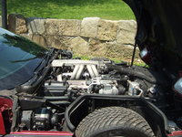 1989 Chevrolet Corvette Coupe, Picture of 1989 Chevrolet Corvette Base, engine
