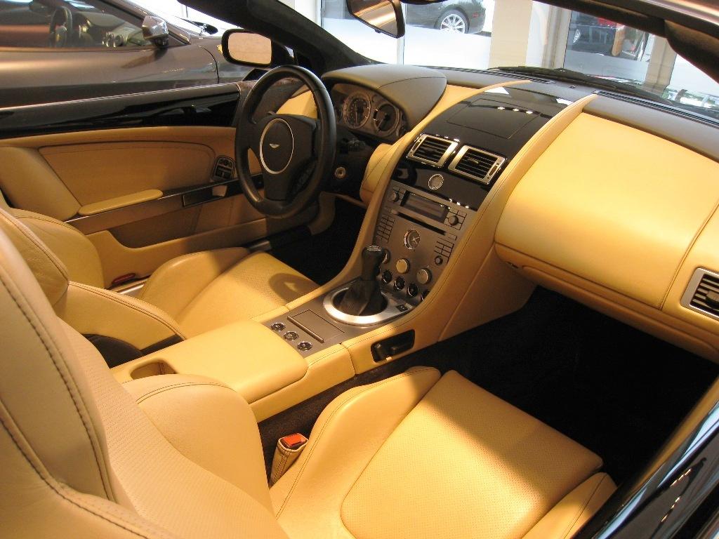2006 aston martin db9 interior pictures cargurus for Aston martin db9 interior