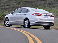 2013 Ford Fusion, Rear-quarter, exterior, gallery_worthy