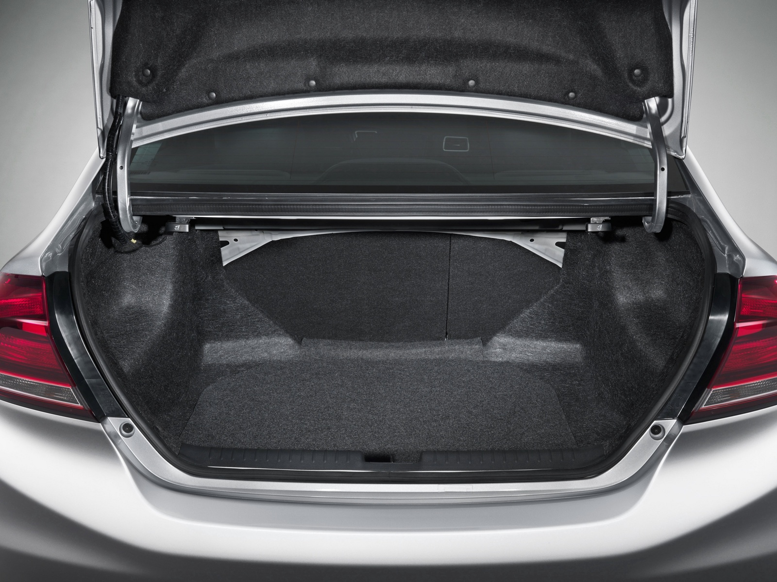 2013 Honda Civic, The Civic's trunk, form_and_function, manufacturer, interior