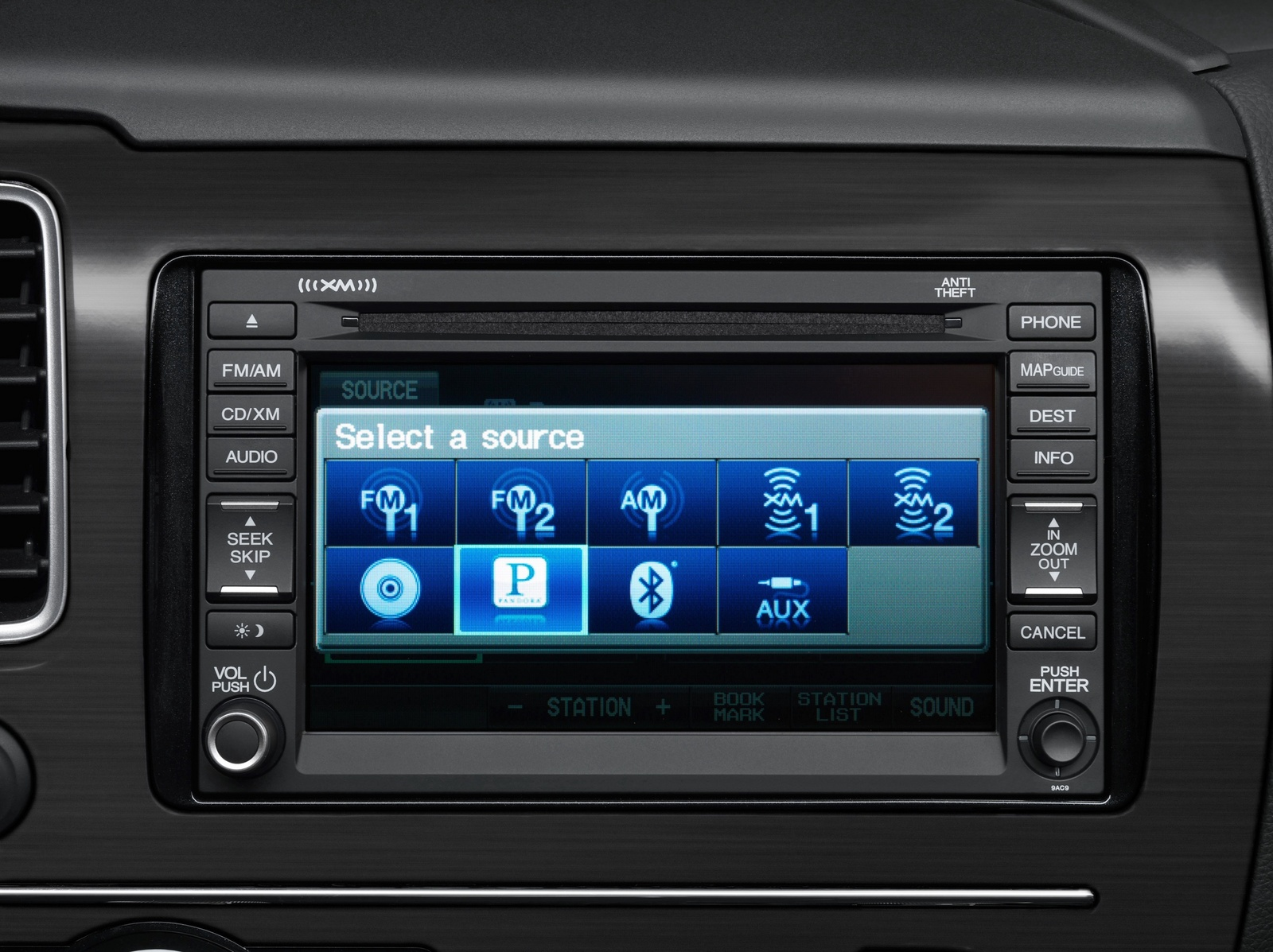 2013 Honda Civic, Civic stereo, interior, manufacturer