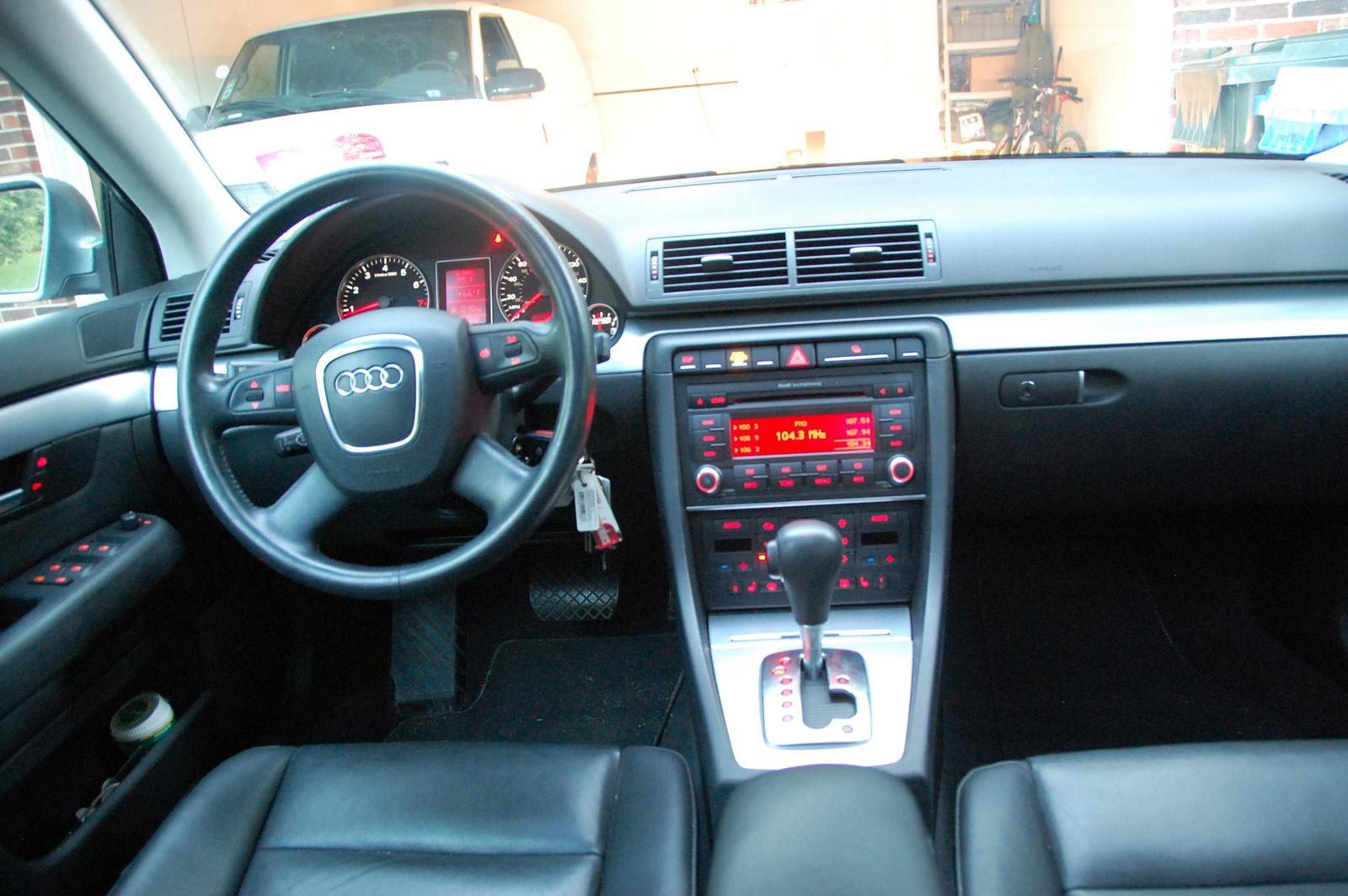 2007 Audi A4 Interior Pictures Cargurus