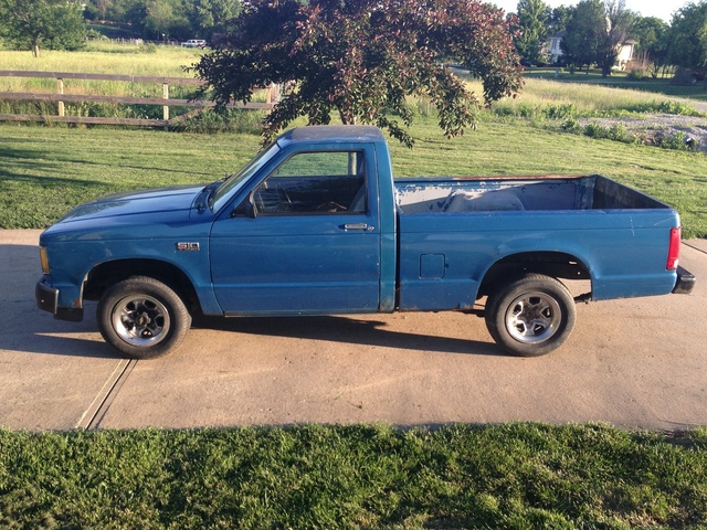 Picture of 1989 Chevrolet S-10 STD Standard Cab SB, exterior, gallery_worthy