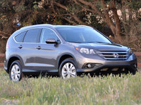 2013 Honda CR-V, Front-quarter view, exterior, gallery_worthy