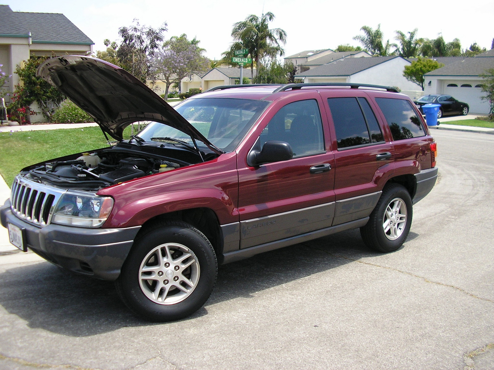 picture of 2003 jeep grand cherokee laredo exterior. Cars Review. Best American Auto & Cars Review