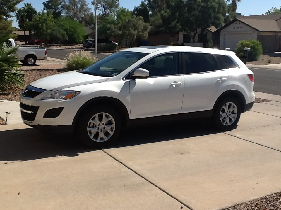 picture of 2011 mazda cx 9 touring awd exterior. Black Bedroom Furniture Sets. Home Design Ideas