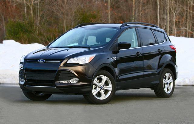 2013 Ford Escape, Front-quarter view, exterior
