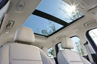 2013 Ford Escape, A Ford image of the Escape's Panoramic moonroof, interior, manufacturer