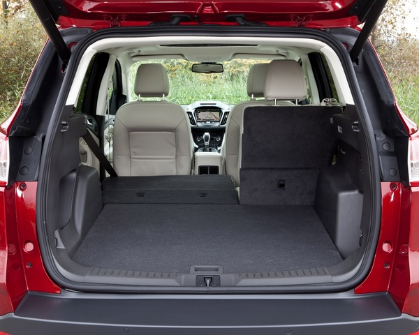 2013 Ford Escape, Rear cargo area, interior