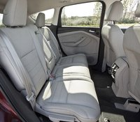 2013 Ford Escape, A Ford image of the Escape's back seats, manufacturer, safety, interior