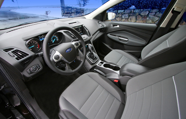 2013 Ford Escape, Driver's seat, interior