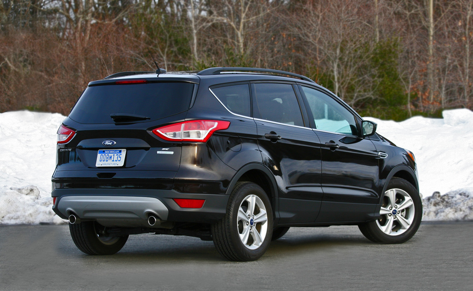 2013 Ford Escape, Rear-quarter view, exterior, cost_effectiveness