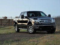 2013 Ford F-150, Front-quarter view, exterior
