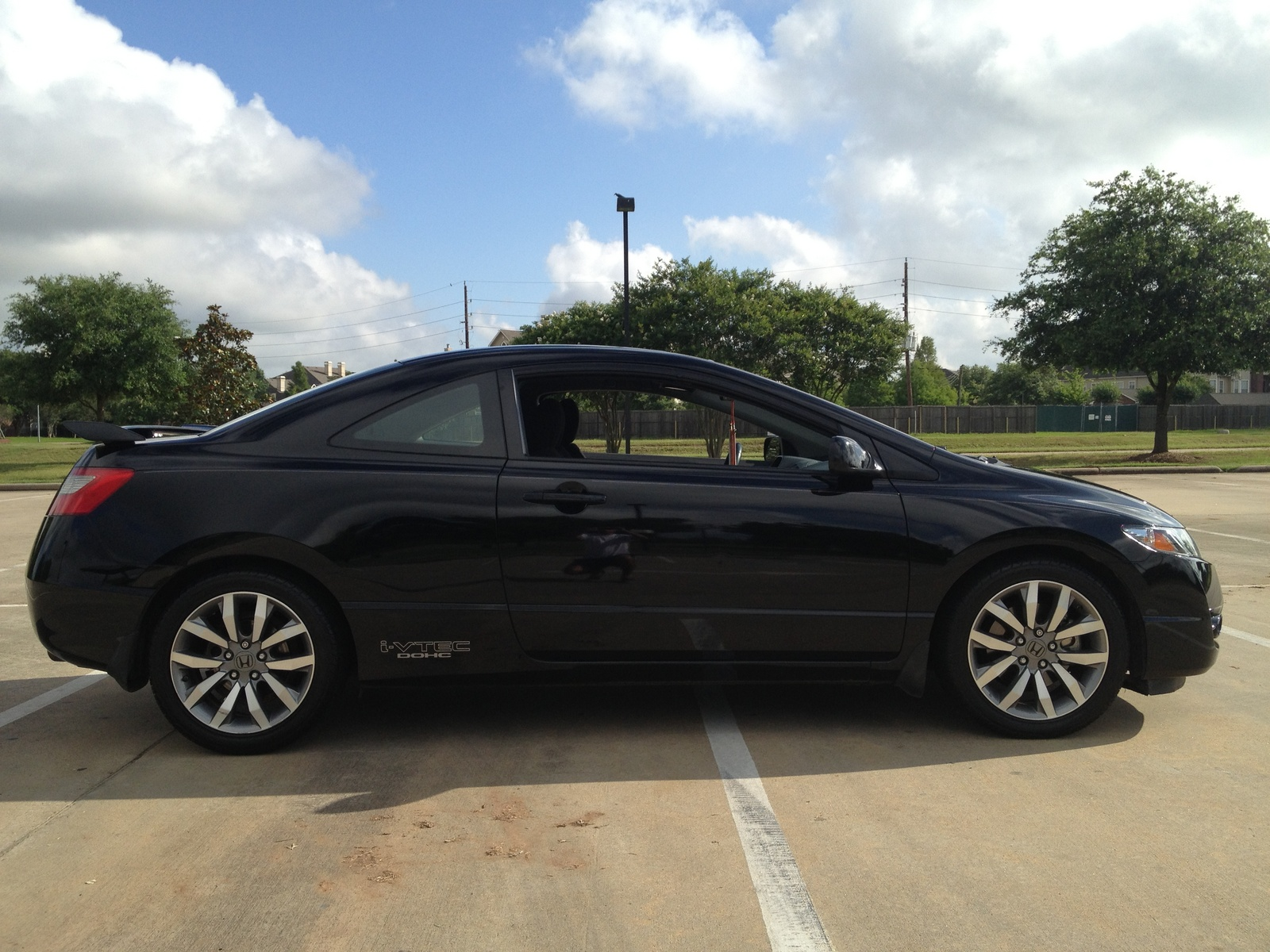 picture of 2009 honda civic coupe si exterior. Black Bedroom Furniture Sets. Home Design Ideas