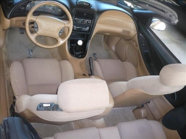 Picture Of 1994 Ford Mustang Gt Convertible Interior