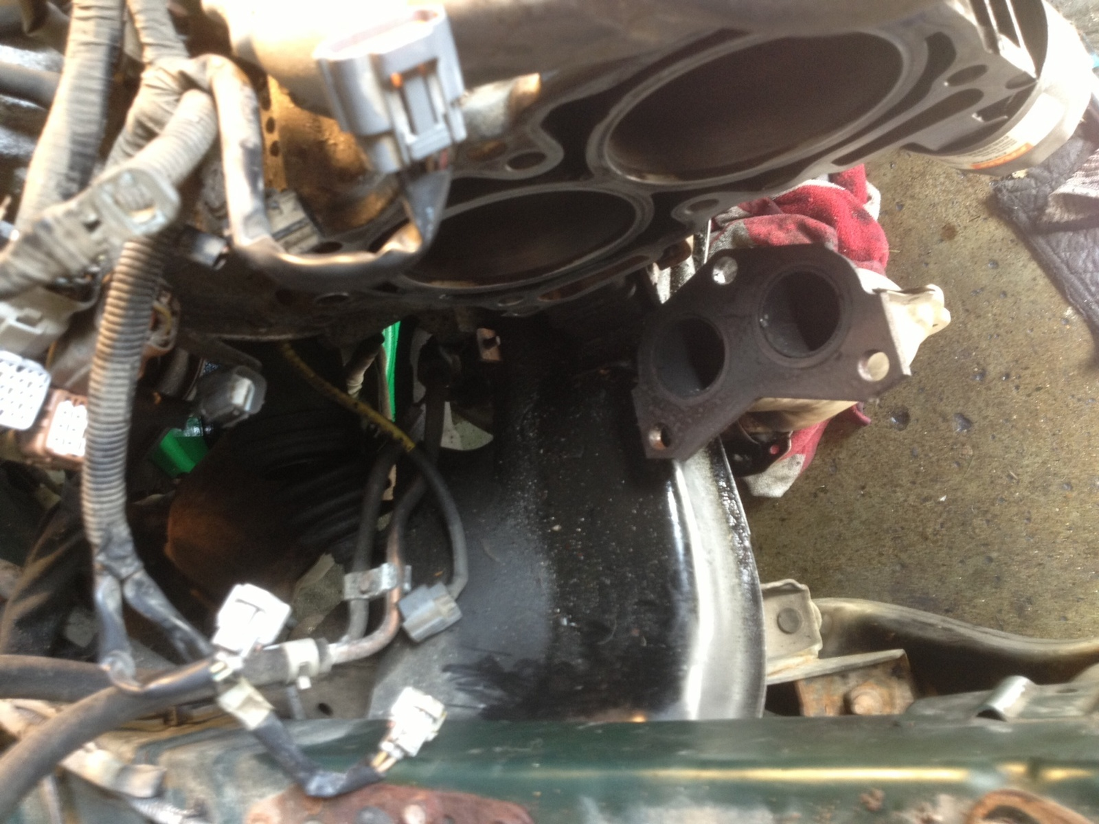 Subaru Outback Questions Burning Oil Blown Head Gasket Front 2000 Pcv Valve Location 15 Answers