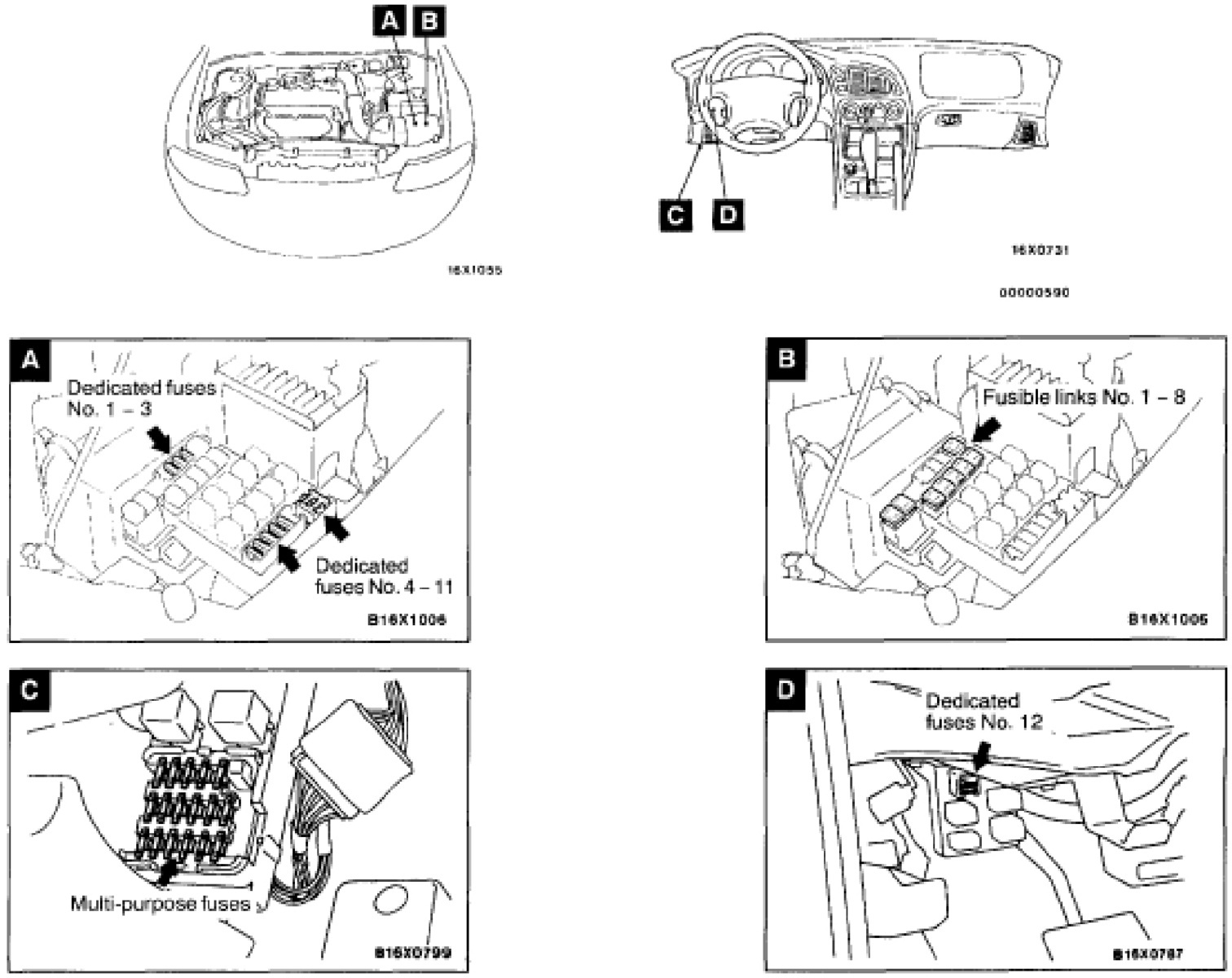 pic 6238544069175987530 1600x1200 chrysler sebring questions where are fuses located on chysler 2006 sebring fuse box diagram at crackthecode.co