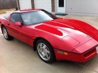 1990 Chevrolet Corvette Coupe, Picture of 1990 Chevrolet Corvette Base, exterior