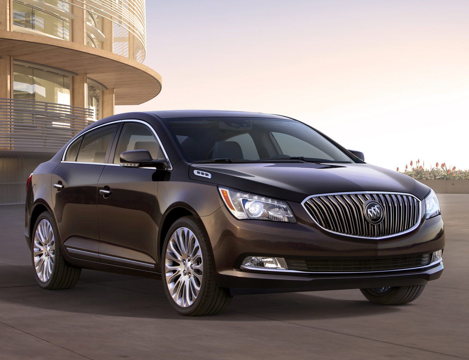 2014 Buick LaCrosse, Front-quarter view. Copyright General Motors, manufacturer, exterior