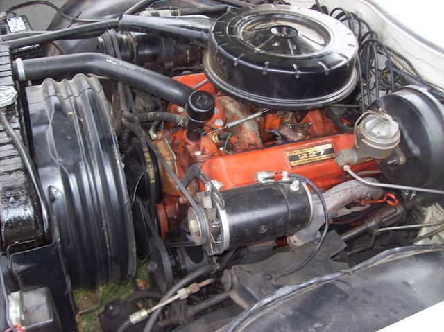 Picture of 1962 Chevrolet Impala, engine