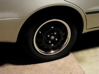 "1999 Toyota Corolla CE, 14"" steel wheel with trim rings, exterior, gallery_worthy"