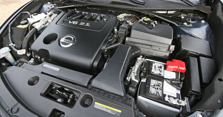 2013 Nissan Altima, Under the hood, performance, engine