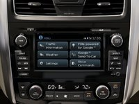 2013 Nissan Altima, The 2013 Altima's infotainment and navigation system, technology, interior