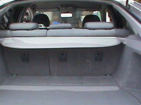 2007 Toyota Prius Base cargo area, interior