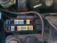 ford thunderbird questions - what fuses are these? - cargurus  cargurus