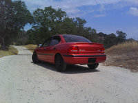 1998 Plymouth Neon 4 Dr Highline Sedan, I kept asking myself should I change out the rear lights....but they blend into the car and I don't really like any of the aftermarket taillights., exte...