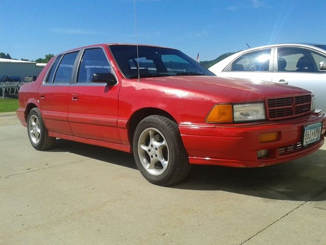 Picture of 1991 Dodge Spirit 4 Dr R/T Turbo Sedan