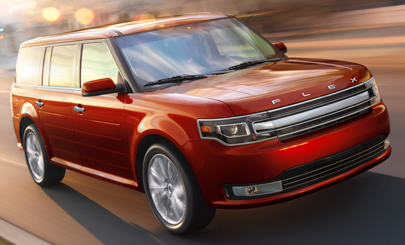 2014 Ford Flex, Front-quarter view, manufacturer, exterior