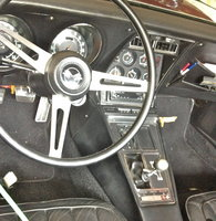 1969 Chevrolet Corvette Coupe picture, interior