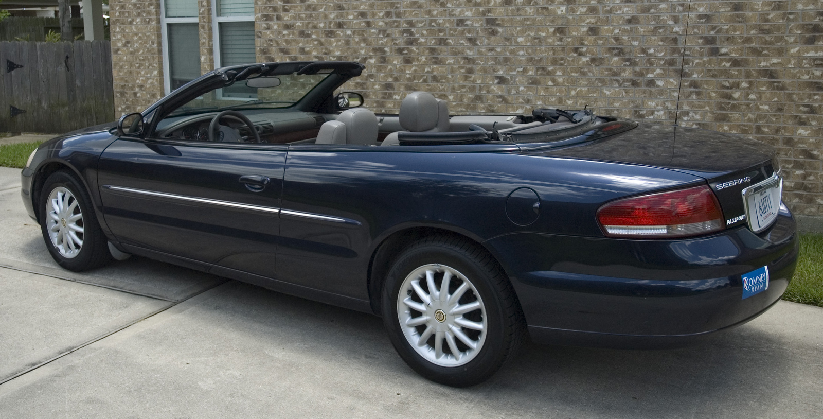 picture of 2002 chrysler sebring lxi convertible exterior. Black Bedroom Furniture Sets. Home Design Ideas