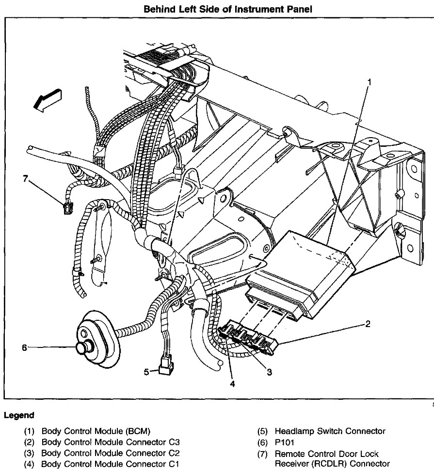 2001 Oldsmobile Silhouette Fuse Box Diagram on Wiring Diagram As Well 2006 Chevy Trailblazer Headlight