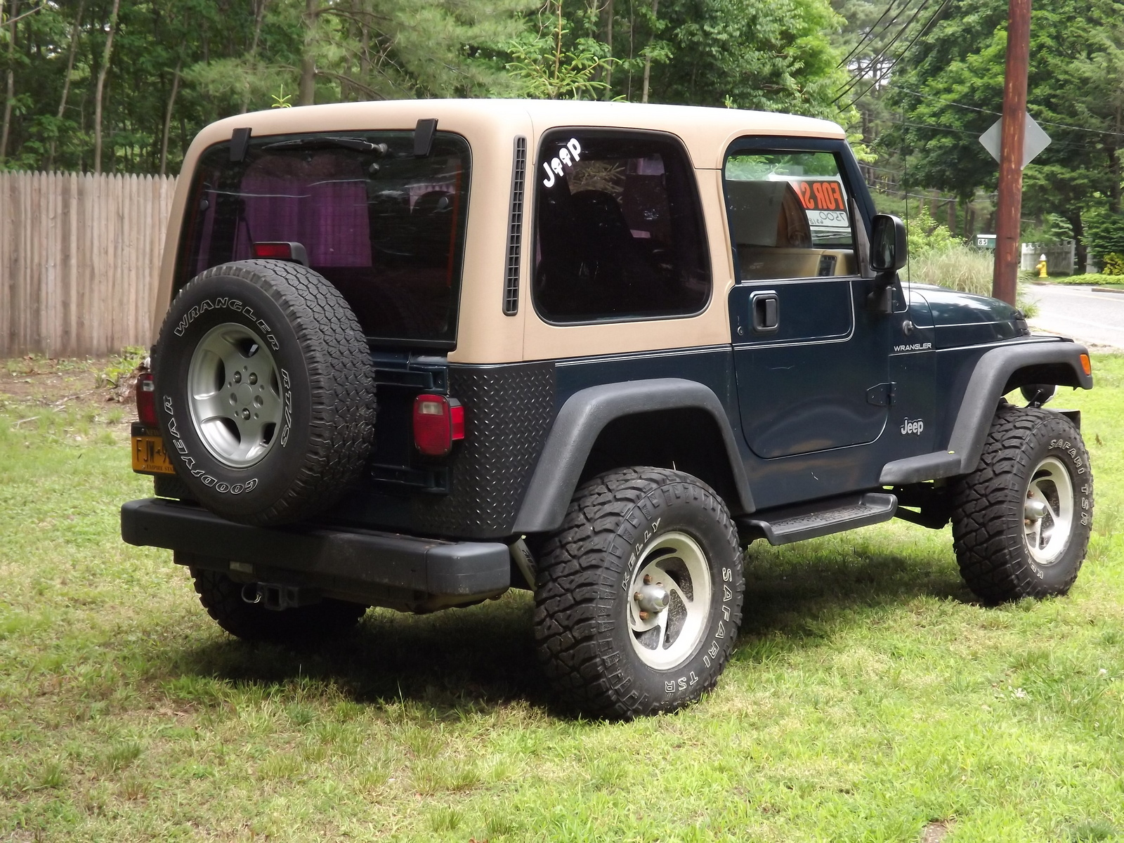 1997 jeep wrangler se for sale in madison ohio classified. Cars Review. Best American Auto & Cars Review