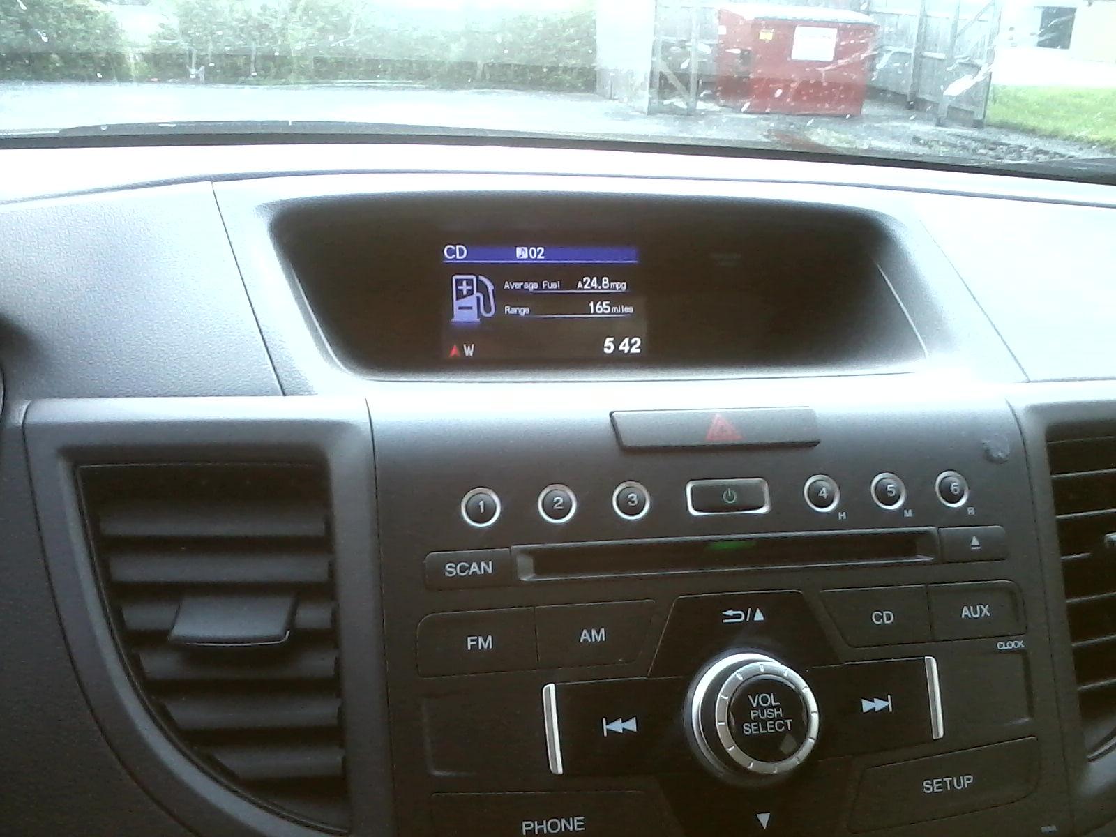 Picture of 2012 Honda CR-V LX AWD, interior