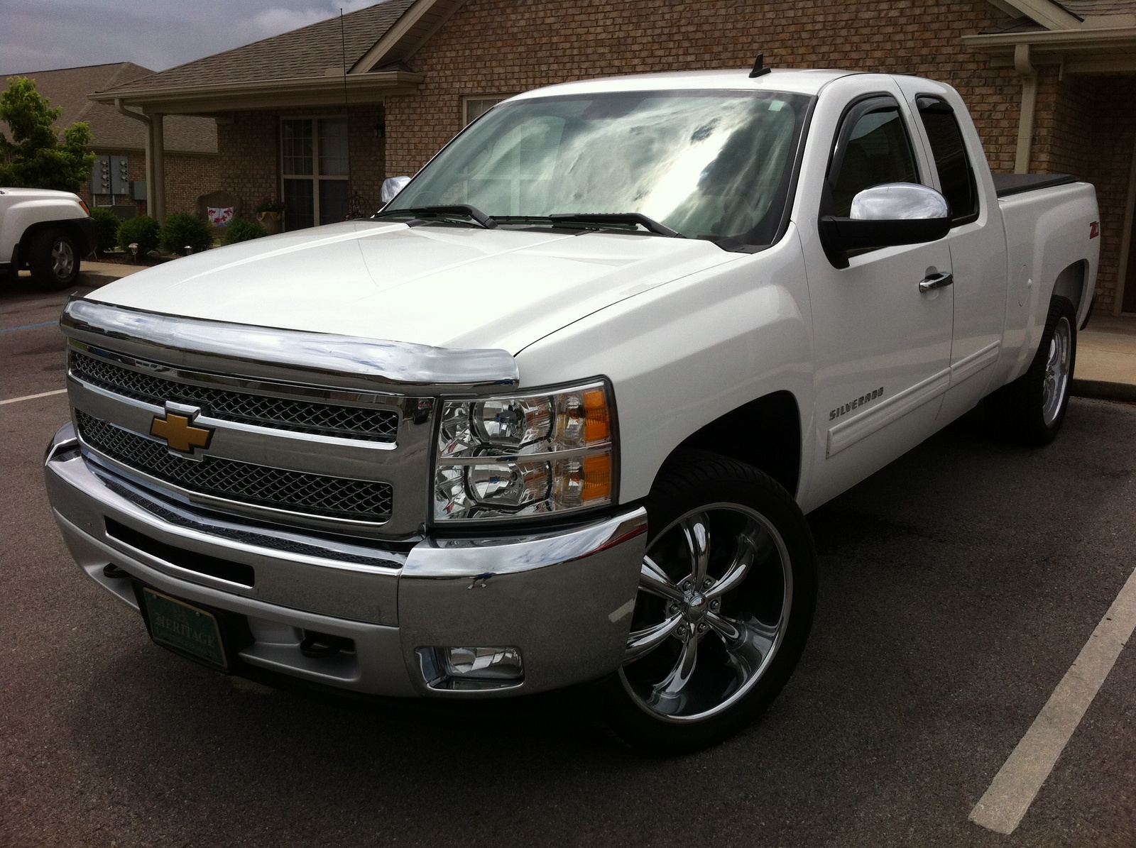 picture of 2013 chevrolet silverado 1500 lt ext cab exterior. Cars Review. Best American Auto & Cars Review