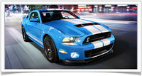 2014 Ford Shelby GT500, Front-quarter view, exterior, manufacturer, gallery_worthy
