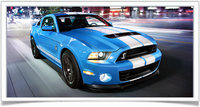 2014 Ford Shelby GT500, Front-quarter view, exterior, manufacturer