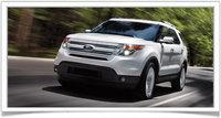 2014 Ford Explorer, Front-quarter view, exterior, manufacturer