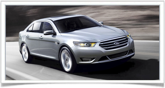 2014 Ford Taurus, Front-quarter view, exterior, manufacturer, gallery_worthy