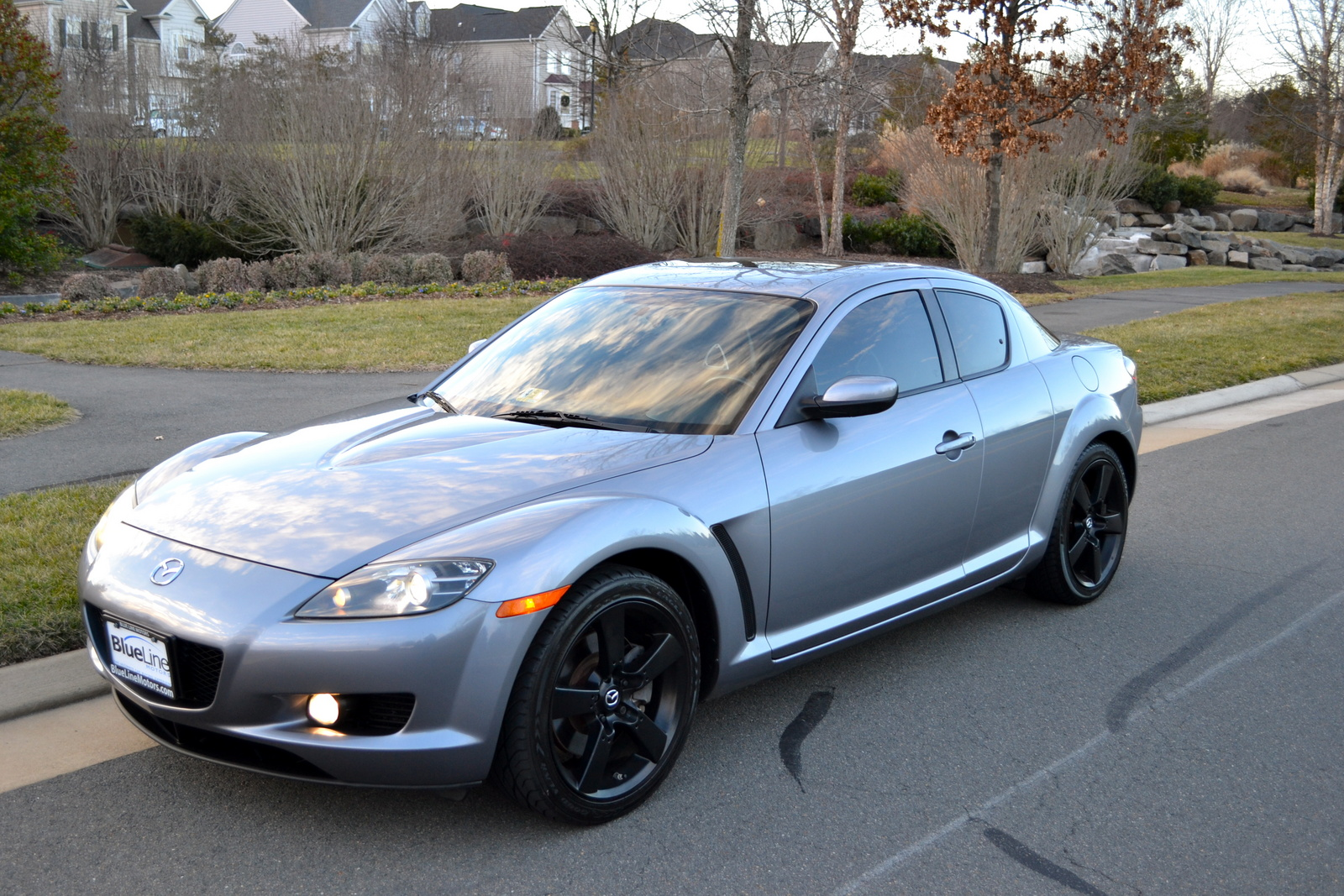 mazda rx 8 custom wheels car pictures. Black Bedroom Furniture Sets. Home Design Ideas