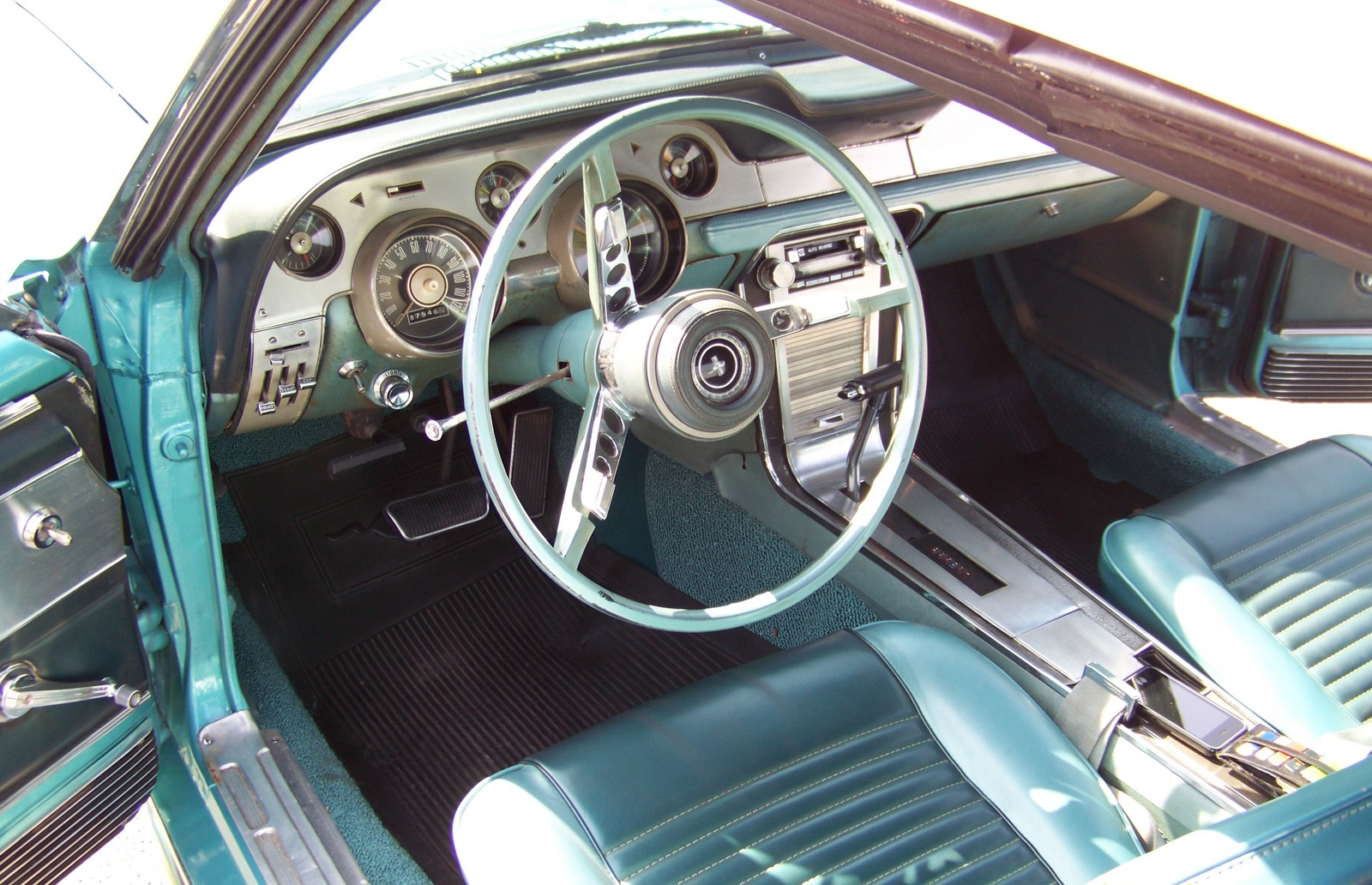 picture of 1967 ford mustang convertible interior - 1967 Ford Mustang Interior