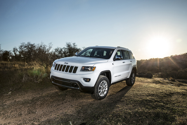 2014 Jeep Grand Cherokee Limited, exterior