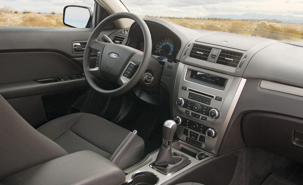 2010 Ford Fusion Interior Dimensions